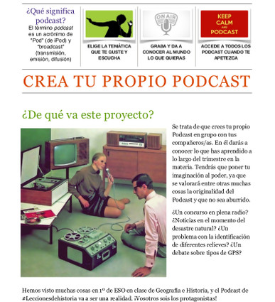 Crea tu podcast
